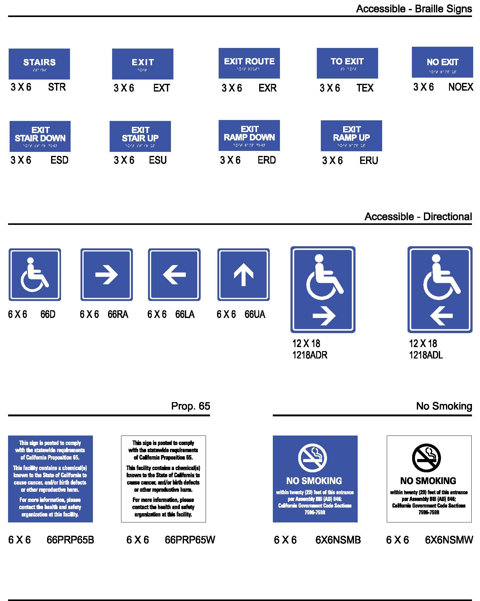 Ada braille signs - Ada interior signage requirements ...